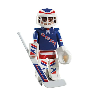New York Rangers Playmobil Goalie Figure (Playmobil New York Rangers Goalie Figure)