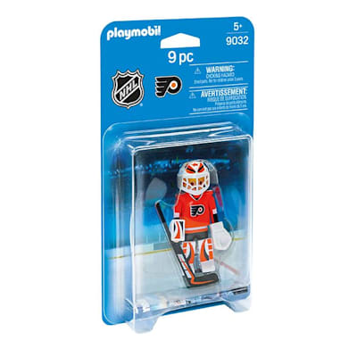 Philadelphia Flyers Playmobil Goalie Figure (Playmobil Philadelphia Flyers Goalie Figure)