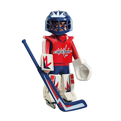 Washington Capitals Playmobil Goalie Figure (Playmobil Washington Capitals Goalie Figure)