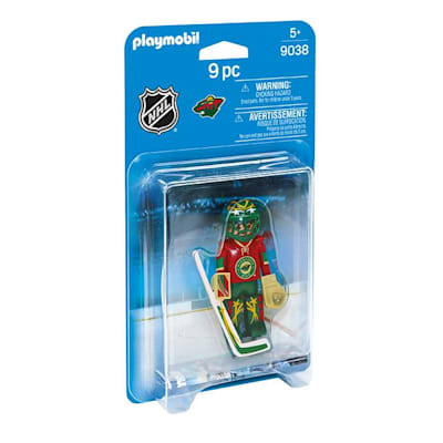 Minnesota Wild Playmobil Goalie Figure (Playmobil Minnesota Wild Goalie Figure)