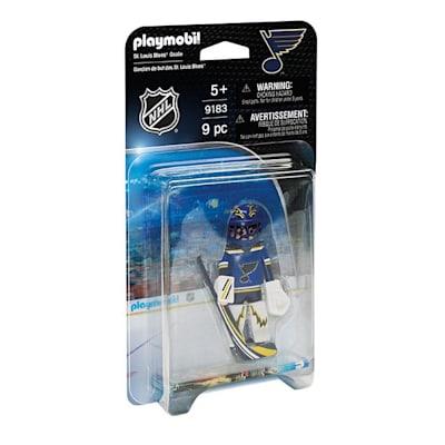 St. Louis Blues Playmobil Goalie Figure (Playmobil St. Louis Blues Goalie Figure)
