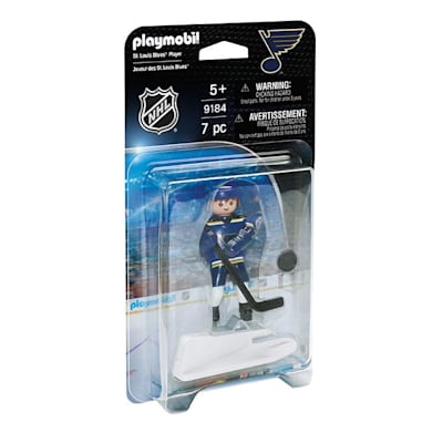 St. Louis Blues Playmobil Player Figure (Playmobil St. Louis Blues Player Figure)