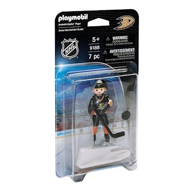 Anaheim Ducks Playmobil Player Figure (Playmobil Anaheim Ducks Player Figure)