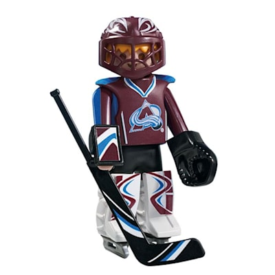 Colorado Avalanche Playmobil Goalie Figure (Playmobil Colorado Avalanche Goalie Figure)