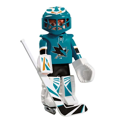 San Jose Sharks Playmobil Goalie Figure (Playmobil San Jose Sharks Goalie Figure)