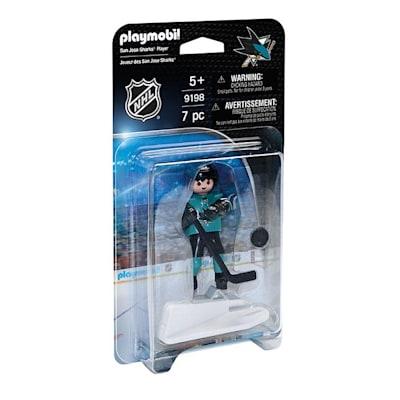 San Jose Sharks Playmobil Player Figure (Playmobil San Jose Sharks Player Figure)