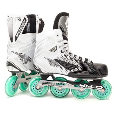 (Mission Mission Inhaler FZ-5 Inline Hockey Skates - Junior)