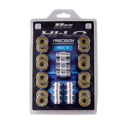 (Bauer S19 Hi-Lo Abec 9 Inline Bearings)