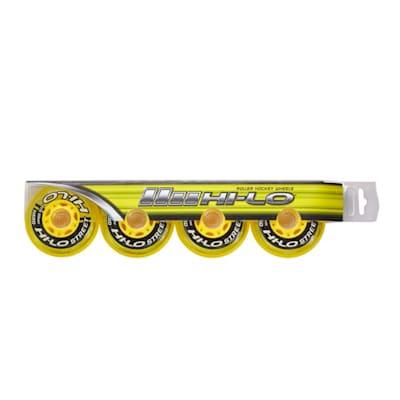 (Bauer S19 Hi-Lo Street Inline Hockey Wheels - 4 Pack)