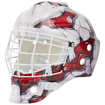 (Bauer NME Street Hockey Goalie Mask - Brick Wall - Youth)