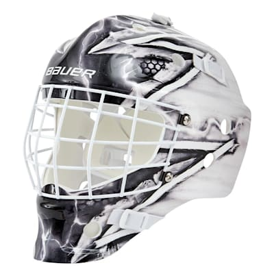 (Bauer NME Street Hockey Goalie Mask - King - Youth)