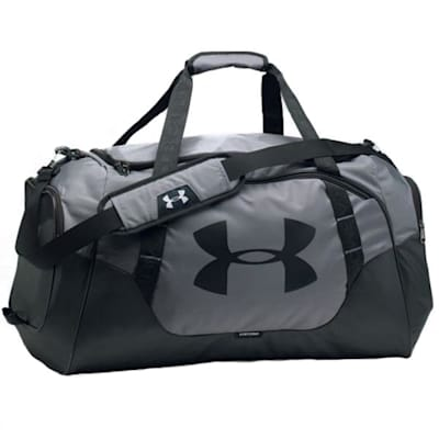 Graphite/Black/Black (Under Armour Undeniable Hockey Duffle 3.0 Small)