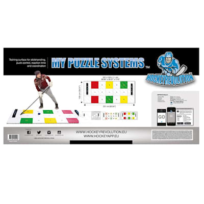 (Hockey Revolution Dryland Training Flooring Tiles - My Puzzle System)