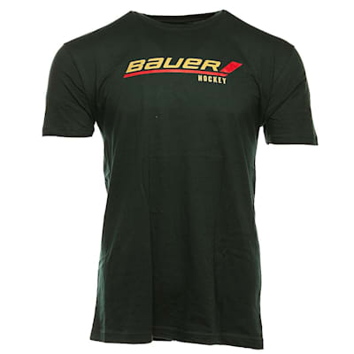 Green (Bauer Stick Logo Tee - Youth)