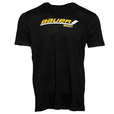 Black (Bauer Stick Logo Tee - Youth)