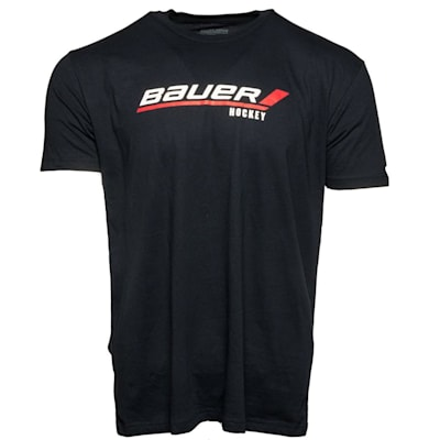 Navy (Bauer Stick Logo Tee - Adult)