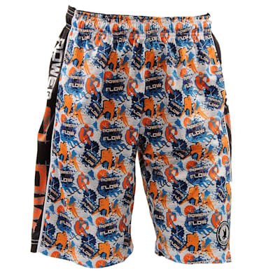 Islanders Blue (Flow Society Power Play Shorts - Youth)