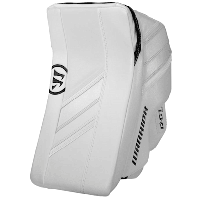 White/White (Warrior Ritual GT2 Pro Goalie Blocker - Senior)