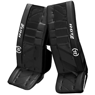 Black/Black (Warrior Ritual GT2 Goalie Leg Pads - Junior)