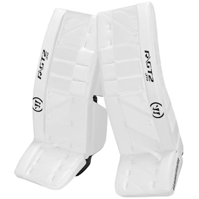White/White (Warrior Ritual GT2 Goalie Leg Pads - Junior)