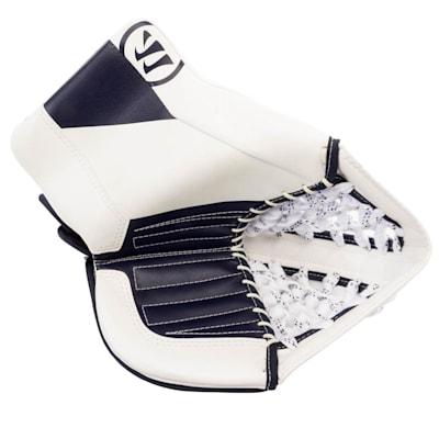 White/Navy (Warrior Ritual GT2 Goalie Glove - Junior)