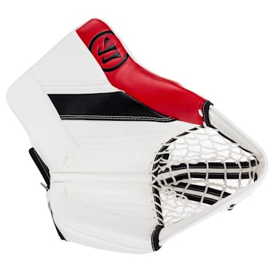 White/Black/Red (Warrior Ritual GT2 Goalie Glove - Senior)