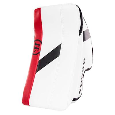 White/Black/Red (Warrior Ritual GT2 Goalie Blocker - Junior)