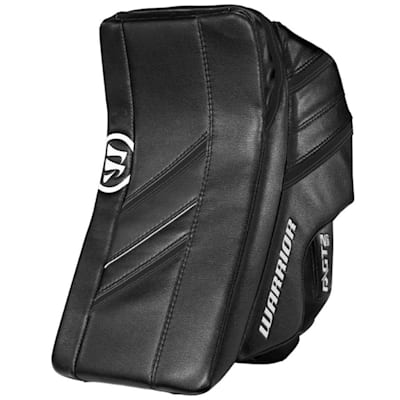 Black/Black (Warrior Ritual GT2 Goalie Blocker - Intermediate)