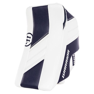 White/Navy (Warrior Ritual GT2 Goalie Blocker - Intermediate)