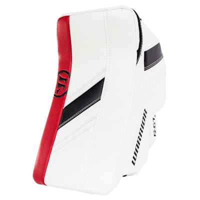 White/Black/Red (Warrior Ritual GT2 Goalie Blocker - Senior)