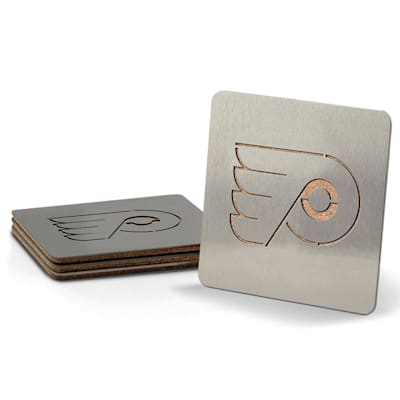 (YouTheFan 4-Piece NHL Team Boasters Set - Philadelphia Flyers)
