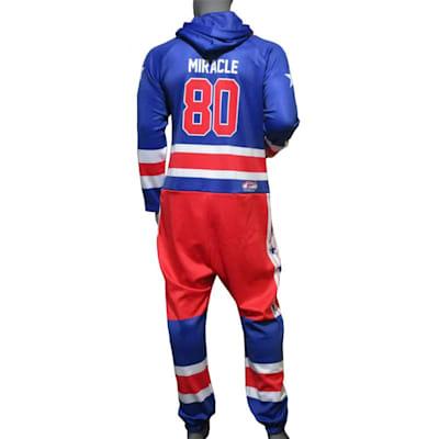 (USA Hockey Miracle Onesie Royal - Adult)