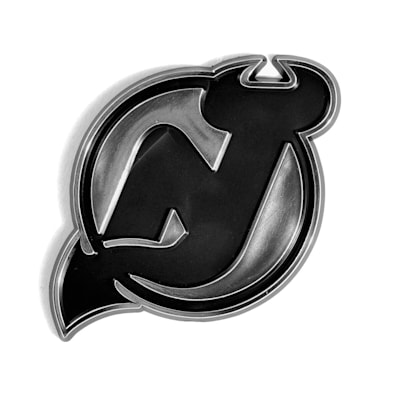 (Chrome Auto Emblem - New Jersey Devils)