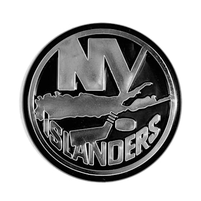 (Chrome Auto Emblem - New York Islanders)