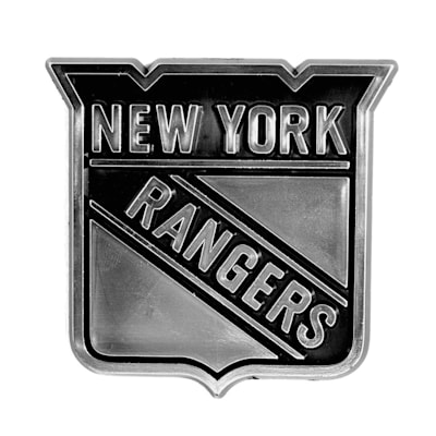 (Chrome Auto Emblem - New York Rangers)