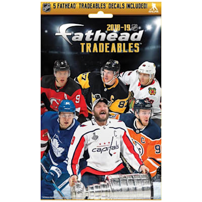(Fat Heads NHL Tradeables Decals Pack)