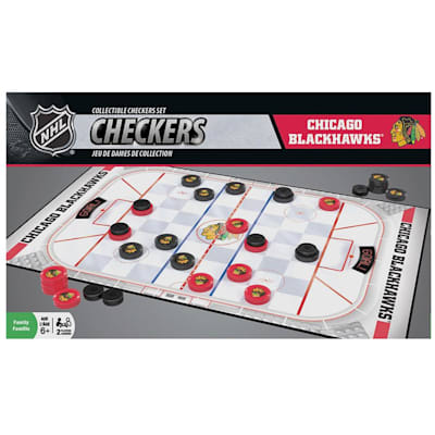 (MasterPieces NHL Checkers - Chicago Blackhawks)