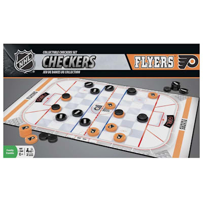 (MasterPieces NHL Checkers - Philadelphia Flyers)