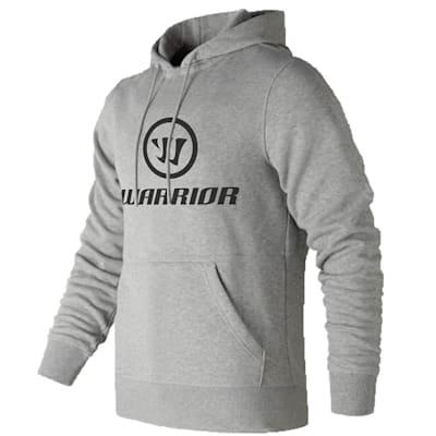 Grey (Warrior Hockey Street Pullover Hoodie - Adult)