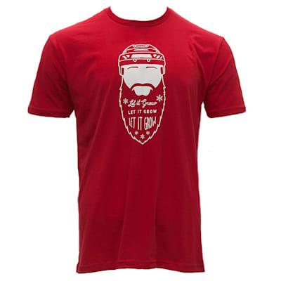 Red (Pure Hockey Santas Favorite Tee - Adult)