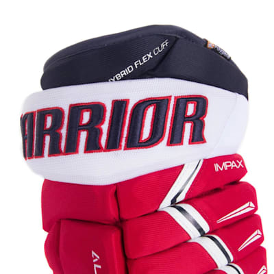 (Warrior Alpha Pro Hockey Gloves - Junior)