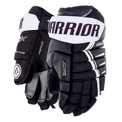 Black/White (Warrior Alpha DX Hockey Gloves - Senior)