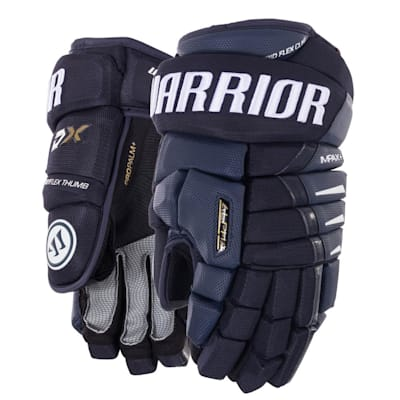 Navy (Warrior Alpha DX Hockey Gloves - Senior)