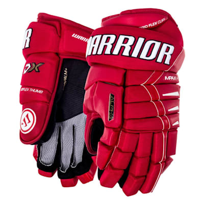 Red/White (Warrior Alpha DX Hockey Gloves - Senior)