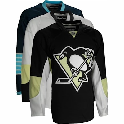 Home/Dark (Reebok Pittsburgh Penguins Premier Jersey - Mens)