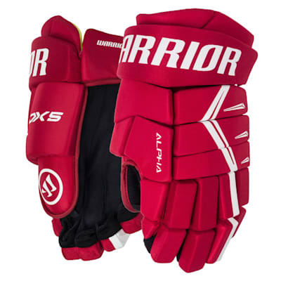 Red/White (Warrior Alpha DX5 Hockey Gloves - Senior)