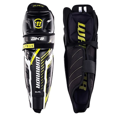 (Warrior Alpha DX3 Hockey Shin Guards - Junior)