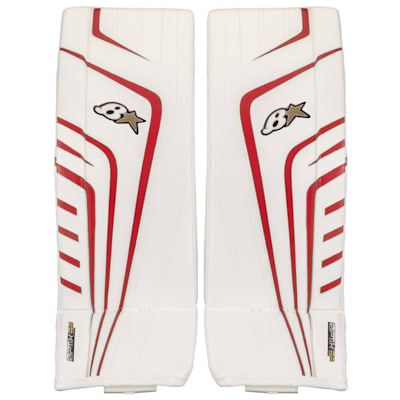 (Brians OPTiK 9.0 Goalie Leg Pads - Senior)