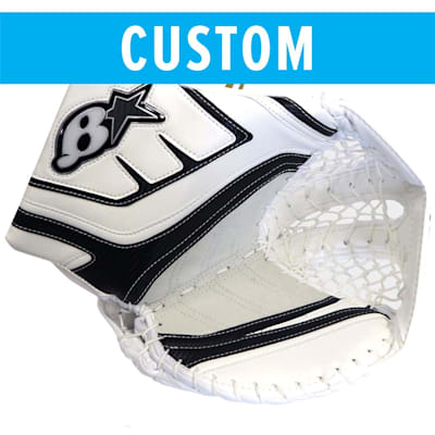 (Brians Custom GNETIK IV Goalie Catch Glove - Senior)