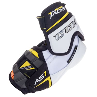 (CCM Super Tacks AS1 Hockey Elbow Pads - Junior)